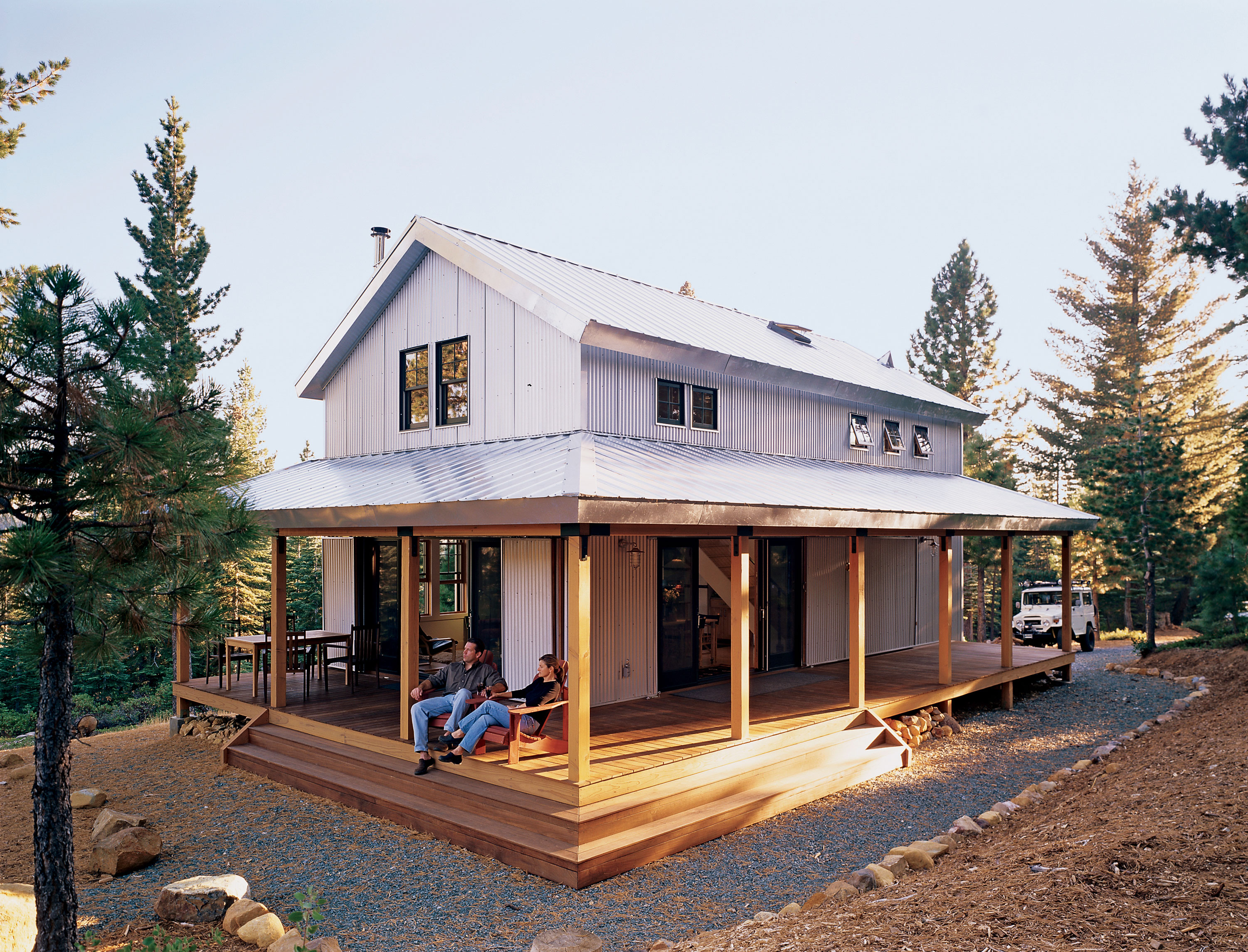 Fabulous Off Grid Cabin Sunset Magazine Wrap Around Porch Name Wrap Around Porch Cost curbed Wrap Around Porch