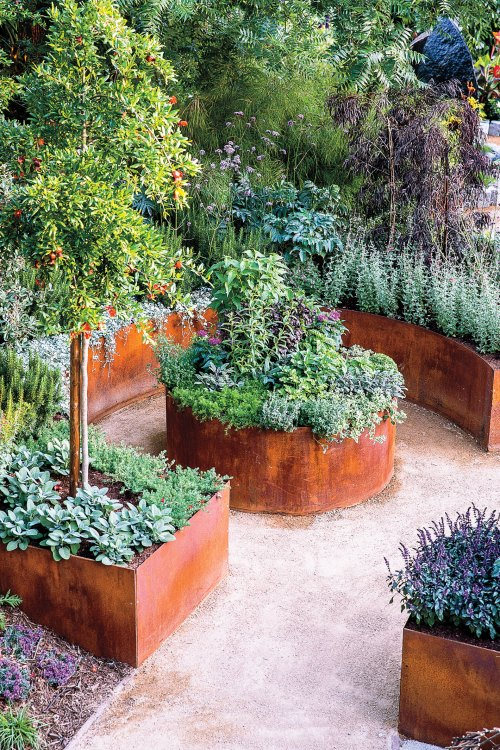 Medium Of Backyard Landscaping Layout