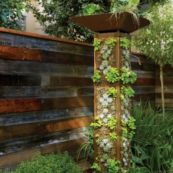 Lovable Make A Vertical Garden Tower No No Start Planting Vertically Instead Sunset Burke S Backyard Vertical Garden Backyard Vertical Garden Ideas