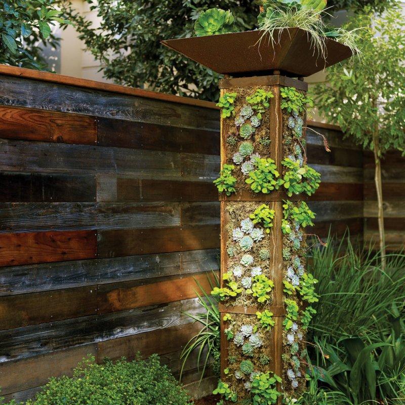 Large Of Backyard Vertical Garden