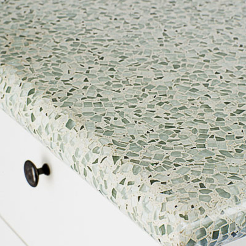 Recycled Countertops Eco Friendly Kitchen Countertops Sunset Magazine