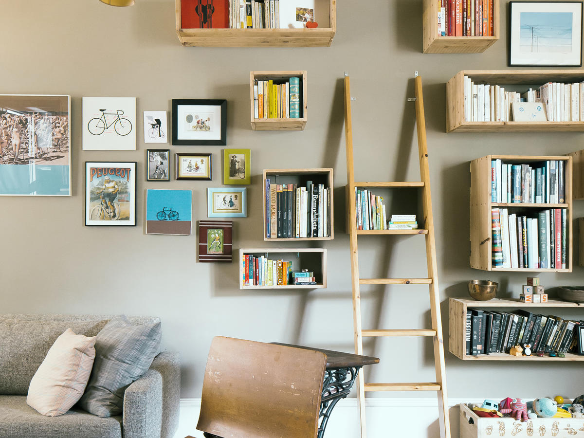 Wall Shelf Design Great Shelf Ideas Sunset Magazine