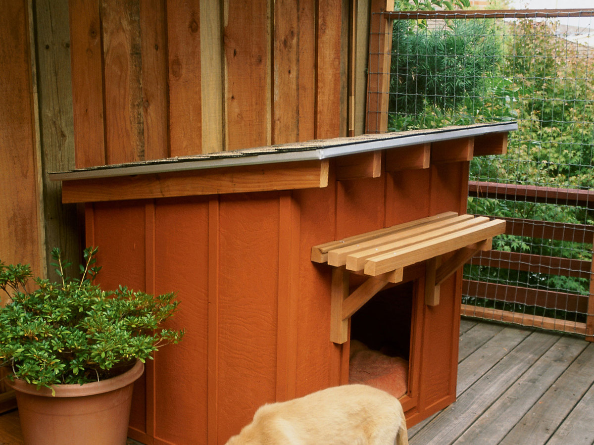 Dog House How To Build A Dog House Sunset Magazine