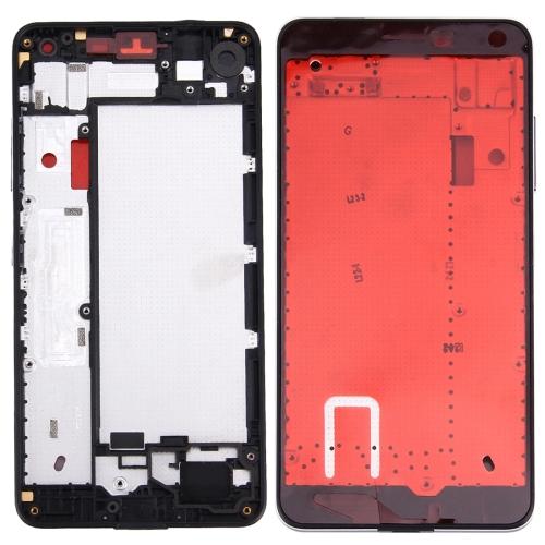 Front Housing LCD Frame Bezel Plate for Microsoft Lumia 650 (Black)