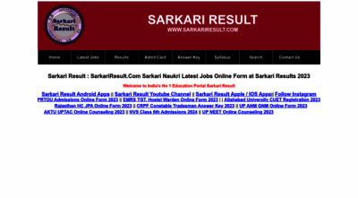 sarkariresult.com - SarkariResult.com : Sarkari Re... - Sarkari Result