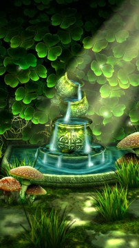 3d Fountain Live Wallpaper Celtic Garden 3d Live Wallpaper Bringing Serenity To Your