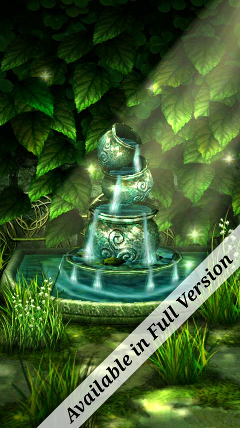 3d Fireflies Live Wallpaper Celtic Garden 3d Live Wallpaper Bringing Serenity To Your