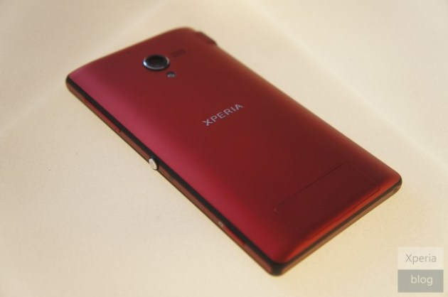 Red Xperia ZL Back 630x418 Red Sony Xperia ZL Surfaces At Recent Launch Event