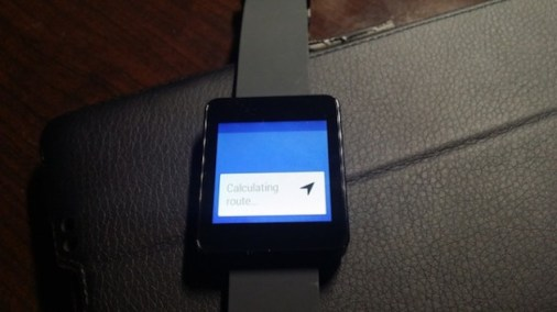 maps android wear