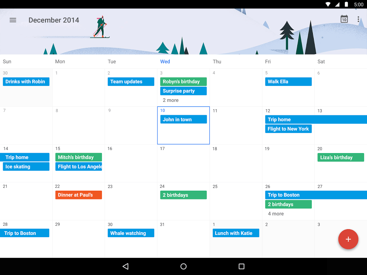 How To Create A Google Calendar On Android Google Calendar Get The New App For Android And Iphone Google Calendar Newhairstylesformen2014