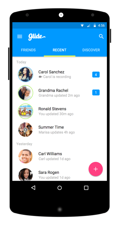 Glide for Android overhauled with Material Design and new ...