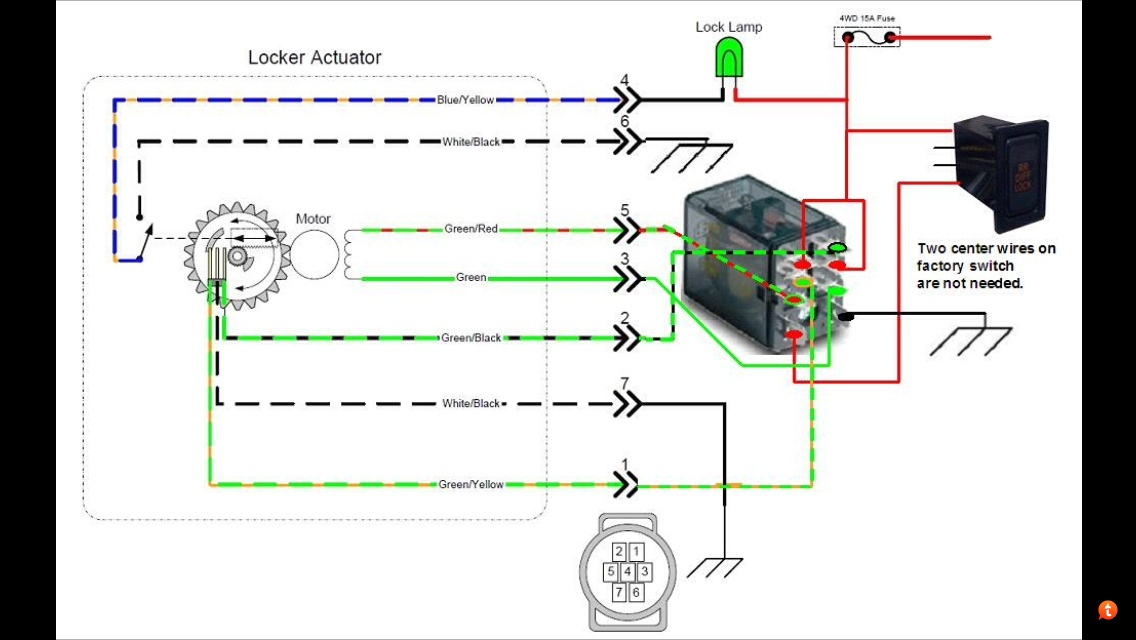 E\u003dlocker wiring? - Toyota 4Runner Forum - Largest 4Runner Forum