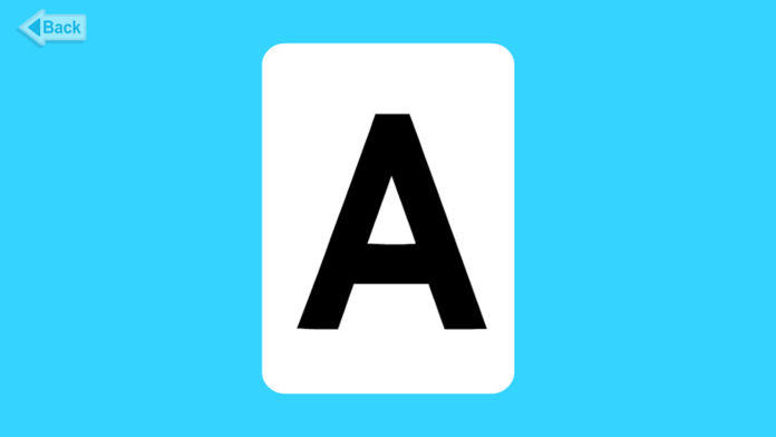 Meet the Letters Flashcards \u2013 Uppercase - Android Games in TapTap