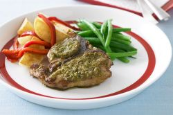 Marvelous Green Olive Tapenade 30343 1 Veal Chop Recipes Bon Appetit Veal Chop Recipes Pan Fried Veal Chops