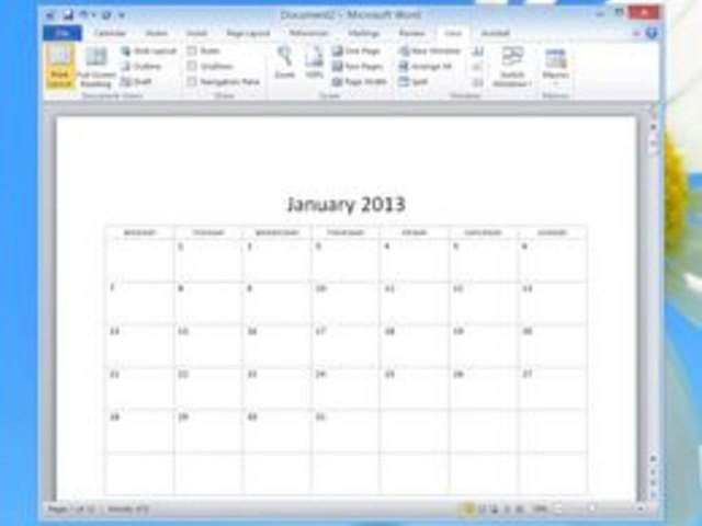 How to Use the Calendar Wizard in Microsoft Word Techwalla