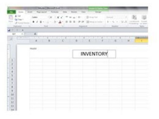 How to Create a Basic Inventory Spreadsheet With Excel Techwalla - how to create an inventory database