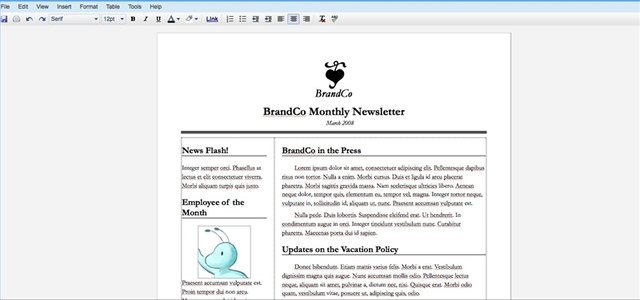 How to Create a Newsletter With Google Docs Techwalla