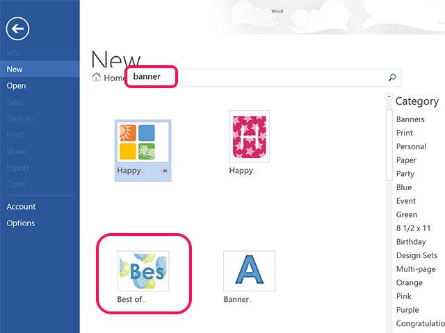 How to Make a Banner in Microsoft Word Techwalla
