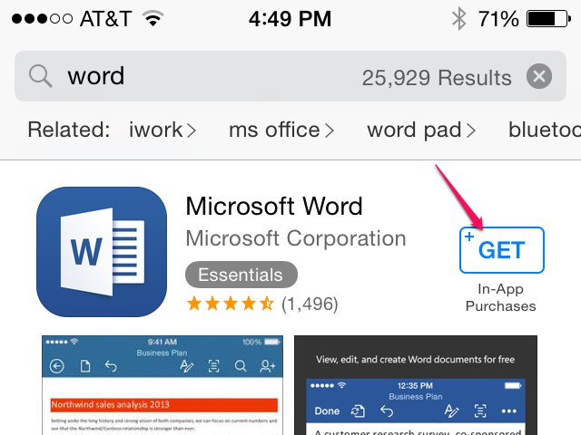 How to View a Word Document on an iPhone Techwalla - degrees in microsoft word