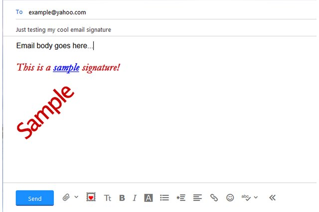 How to Change the Signature in Yahoo Email Techwalla