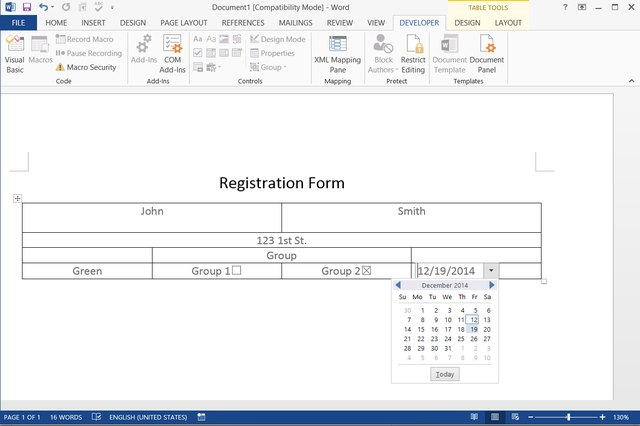 How to Make a Fillable Form With Microsoft Word Techwalla - how to make an order form in word