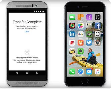 Apple anuncia nueva app para migrar de Android a iOS