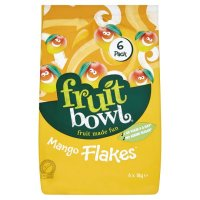 Fruit Bowl Mango Fruit Flake 6 Pack 108G - Groceries ...