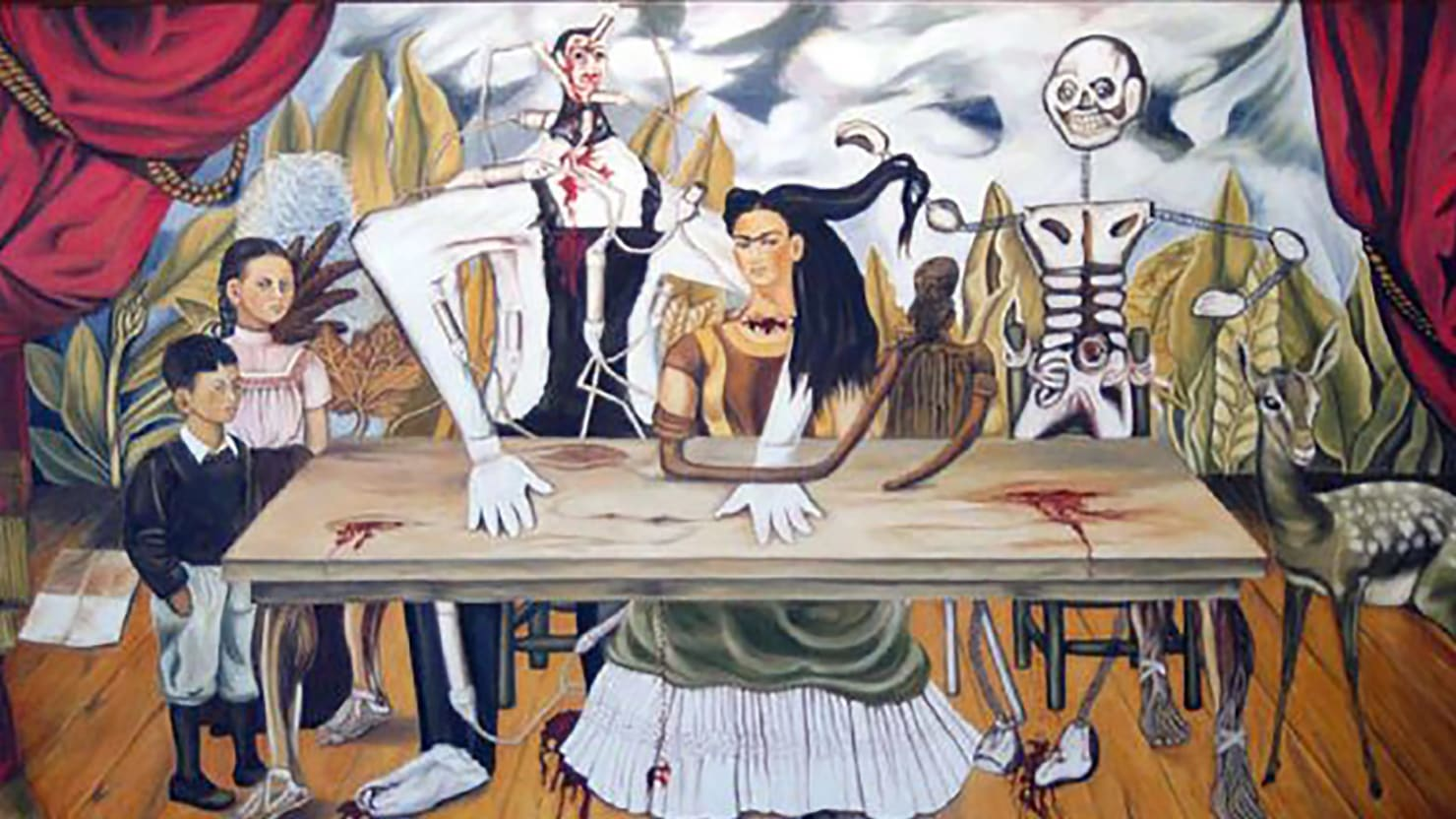 Arte De Mexico Beds What Happened To Frida Kahlos Missing Adultery Painting