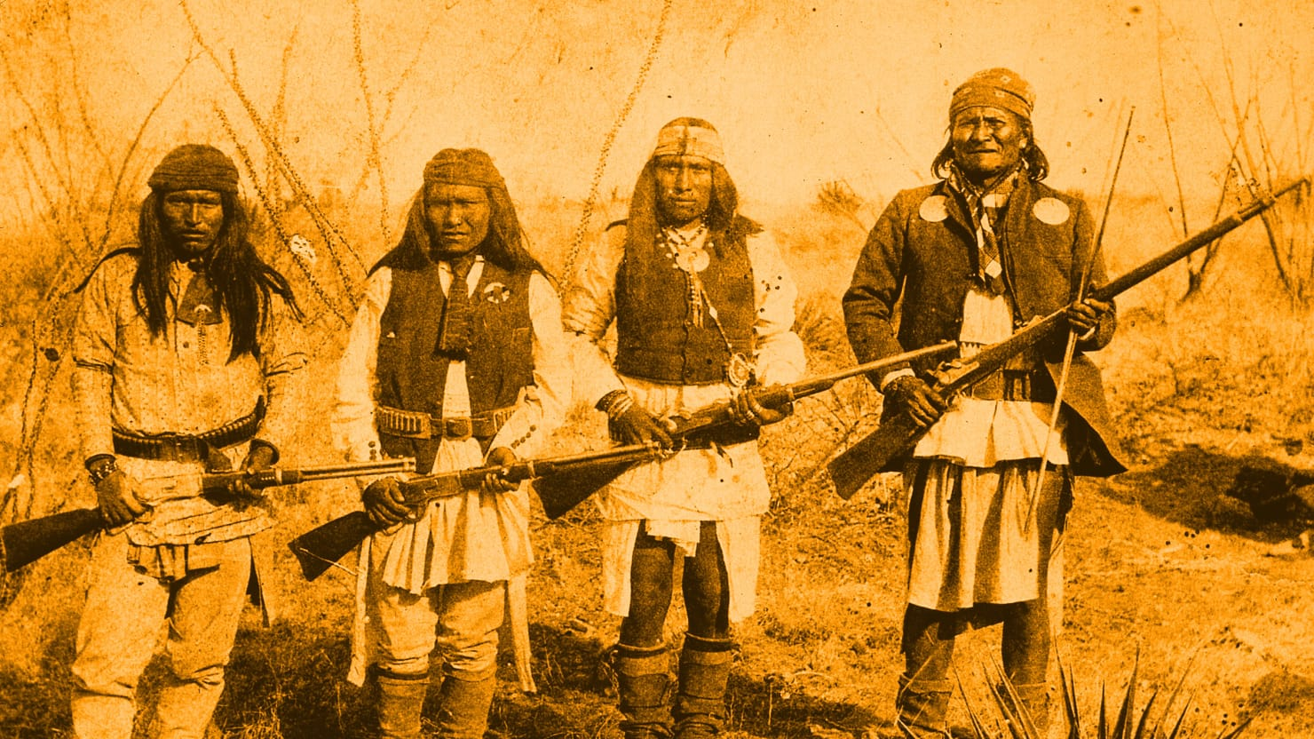 Native Americans Invented Our Gun Culture And Yes We