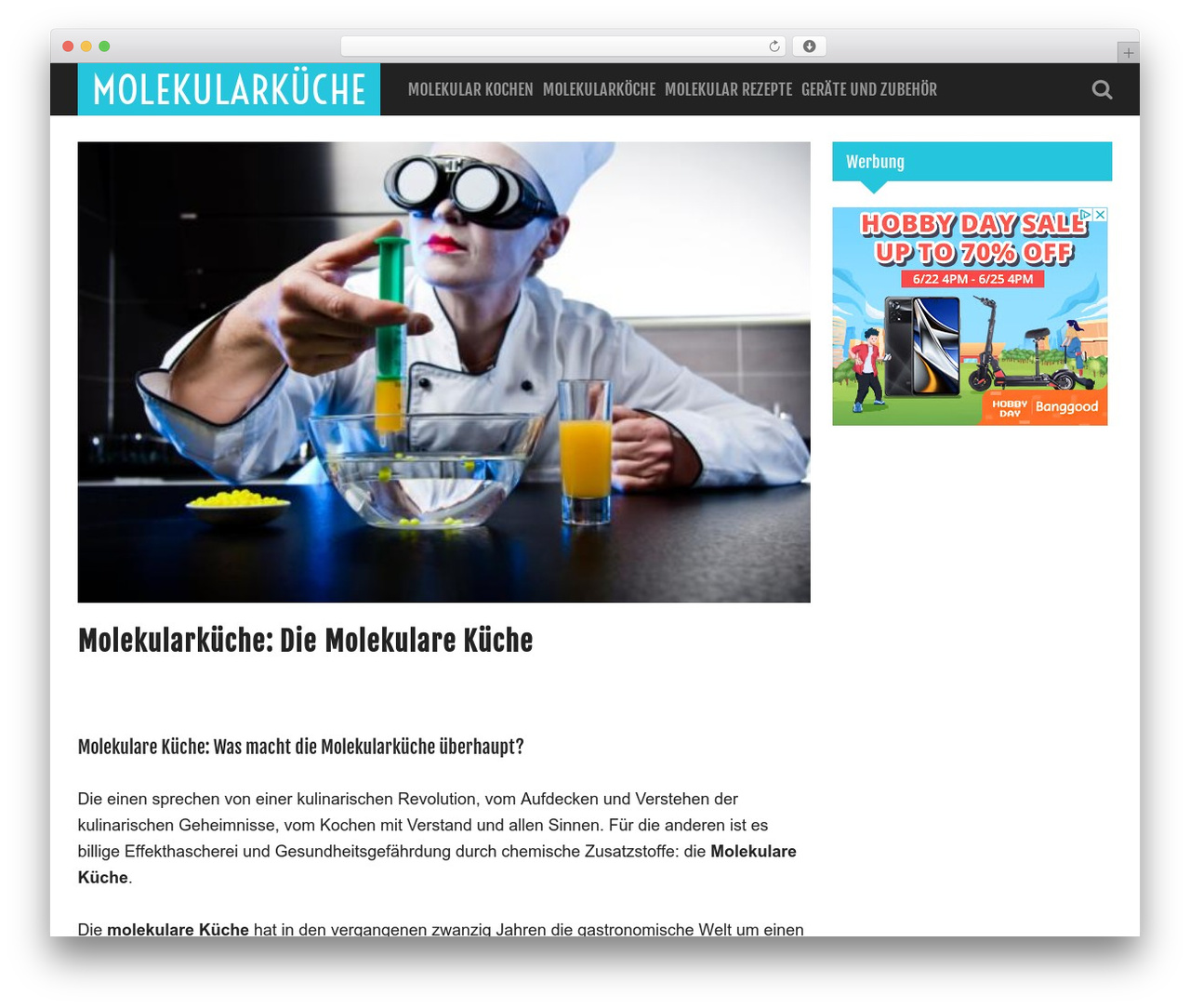 Chemie Küche Why Hello There Template Wordpress Free By Siteturner Molekulare