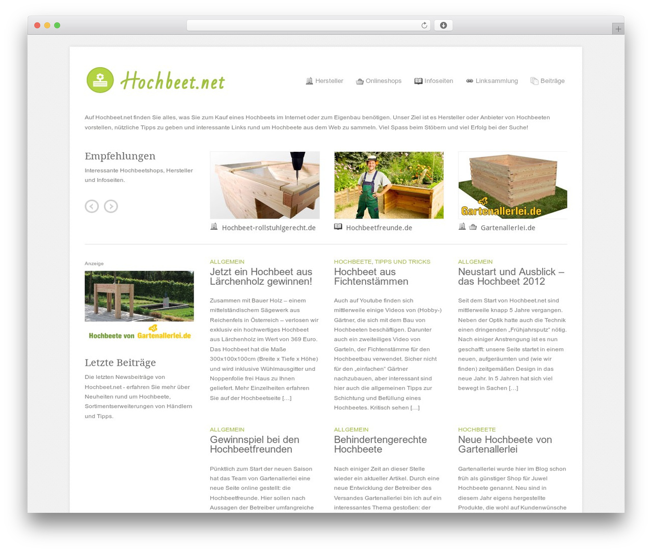 Bau Hochbeet Best Wordpress Template Craft By Theme Trust Hochbeet