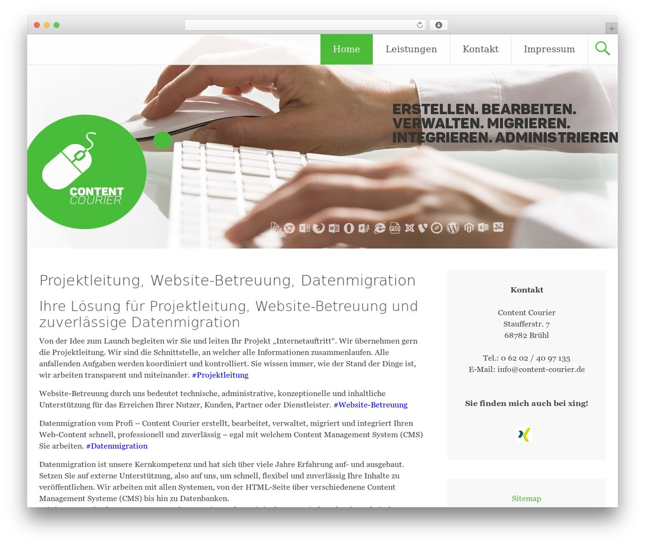 Wordpress Seite Erstellen Radiate Wordpress Theme By Themegrill Content Courier De