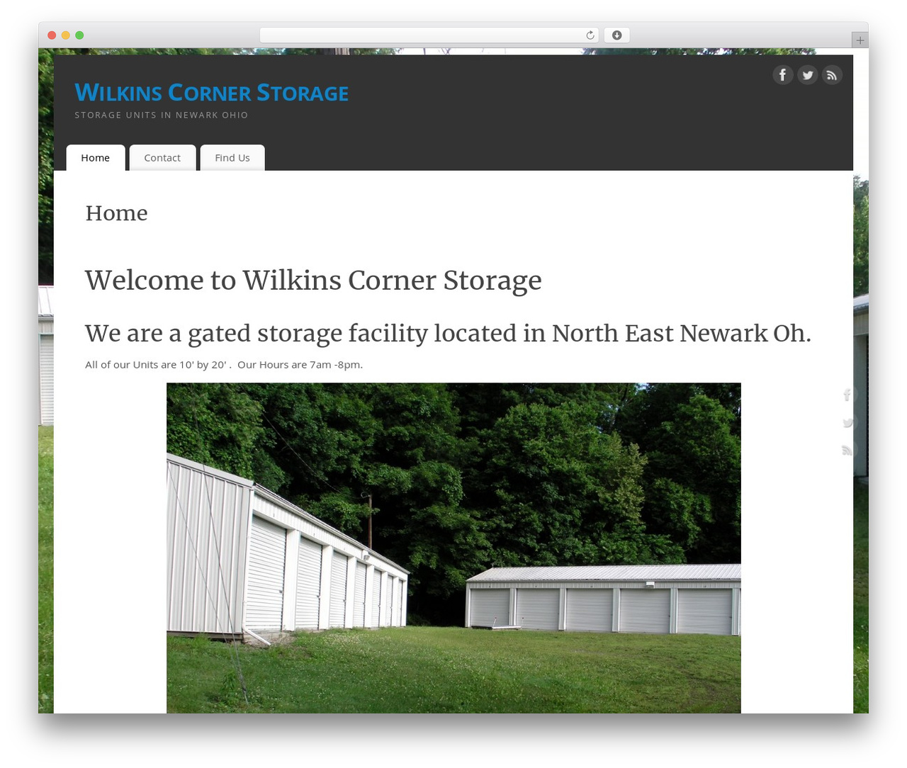 Storage Unit Newark Ohio Mantra Free Wp Theme By Cryout Creations Wilkinscornerstorage