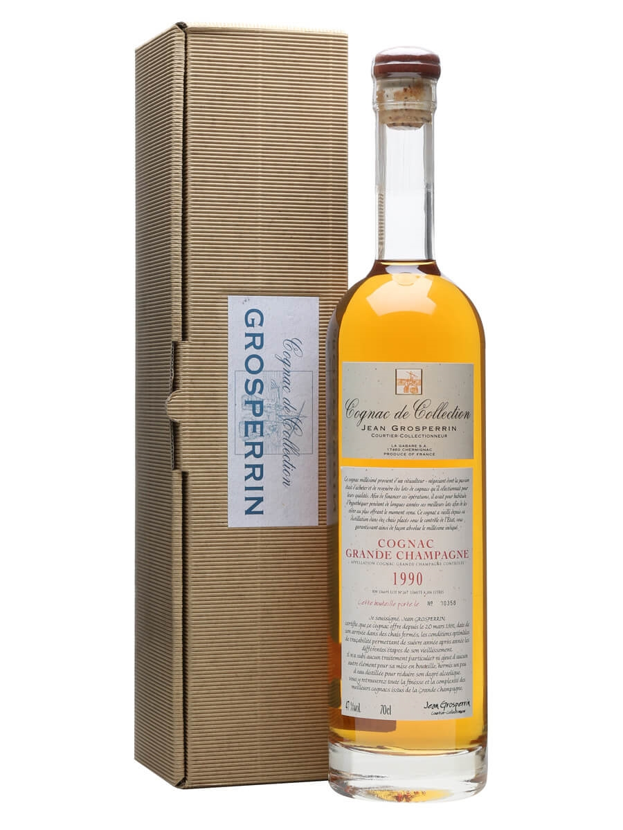 Champagne En Gros Grosperrin 1990 Grande Champagne Cognac The Whisky Exchange