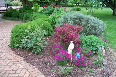 Garden Patio In Spring Thriftyfun