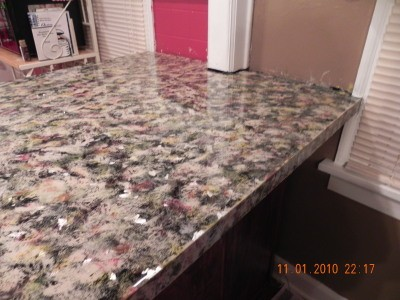Gt gallery for gt painting laminate countertops to look like granite