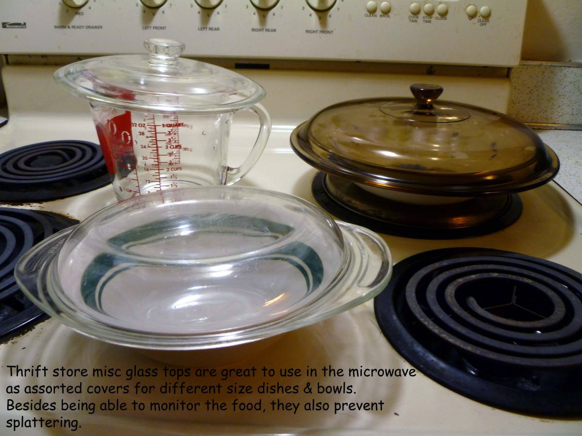 Glass Plate Cover For Microwave Using Glass Lids To Cover Food In The Microwave Thriftyfun