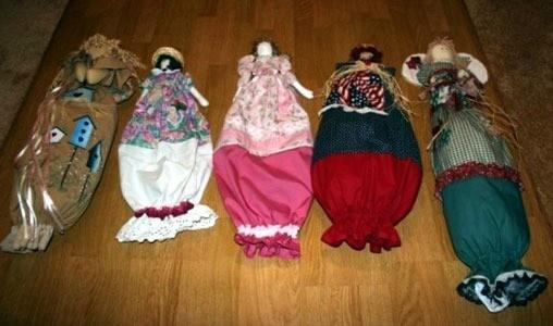 Doll Plastic Bag Holder Thriftyfun