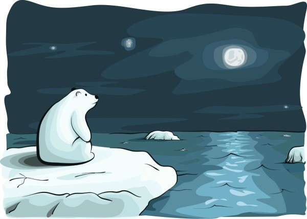 Clipart Pictures Iceberg Polar Bear Craft Ideas Thriftyfun