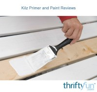 Kilz Primer and Paint Reviews | ThriftyFun