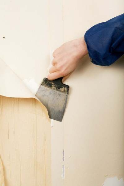 Removing Painted Wallpaper Glue | ThriftyFun