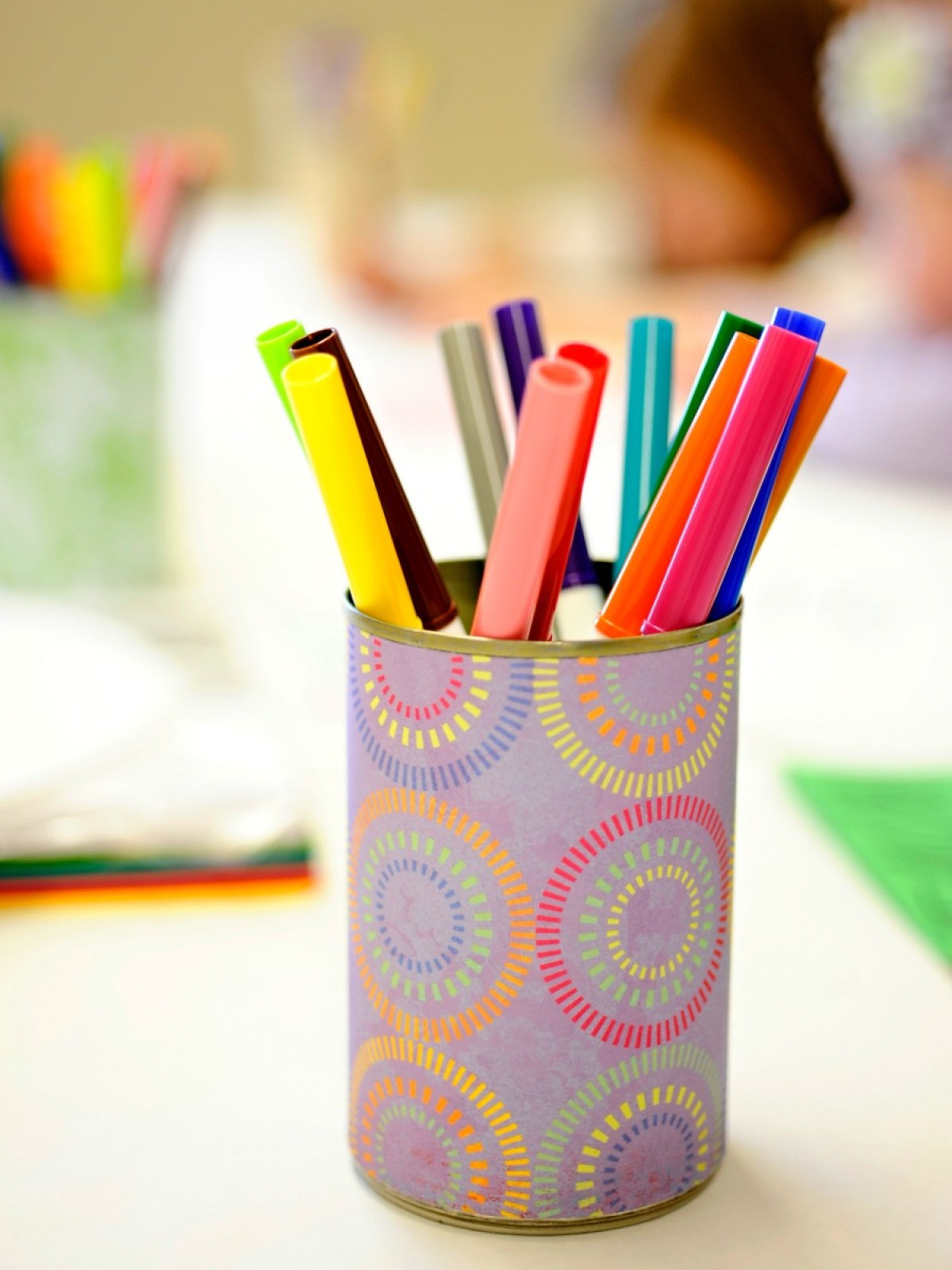 Homemade Pencil Holders Pen And Pencil Holder Ideas Thriftyfun