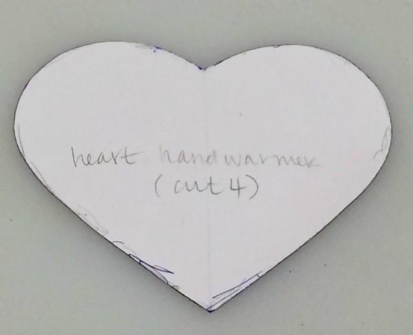 Simple Heart Hand Warmers ThriftyFun