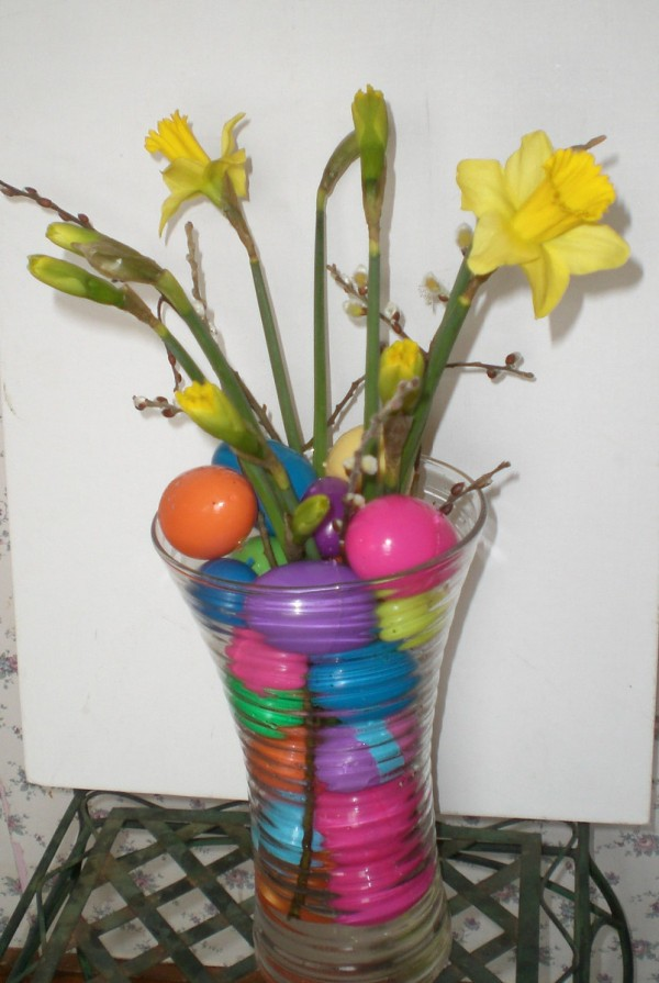 Decoration Clio 4 Easter Centerpiece Ideas | Thriftyfun