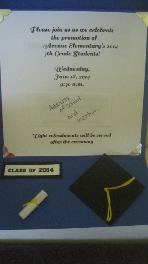 how to make graduation invitations