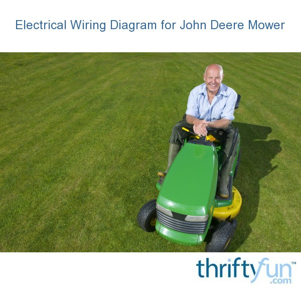 Electrical Wiring Diagram for John Deere Mower ThriftyFun