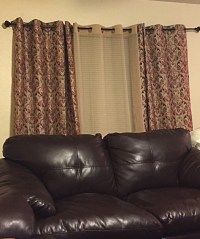 What Color Curtains Go With Beige Walls And Black ...