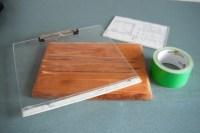 DIY Cookbook Holder | ThriftyFun