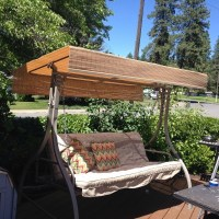 Replacing the Canopy on a Patio Swing   ThriftyFun