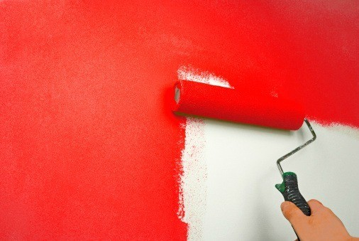 Bild Auf Wand Malen Painting Walls Red | Thriftyfun